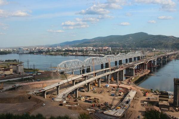 Четвёртый мост Красноярск